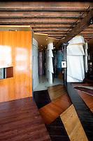 modern wooden floor