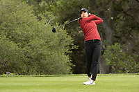 STANFORD, CA - APRIL 25: Agelina Ye at Stanford Golf Course on April 25, 2021 in Stanford, California.