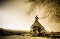 Lonely Western Chapel - Arizona