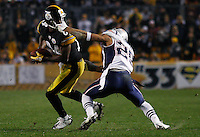 New England Patriots vs Pittsburgh Steelers 10/30/11