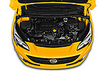 Car Stock 2019 Opel Corsa GSI 3 Door Hatchback Engine  high angle detail view