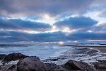 Dramatic clouds over Town Neck Beach in Sandwich, Cape Cod, MA, USA