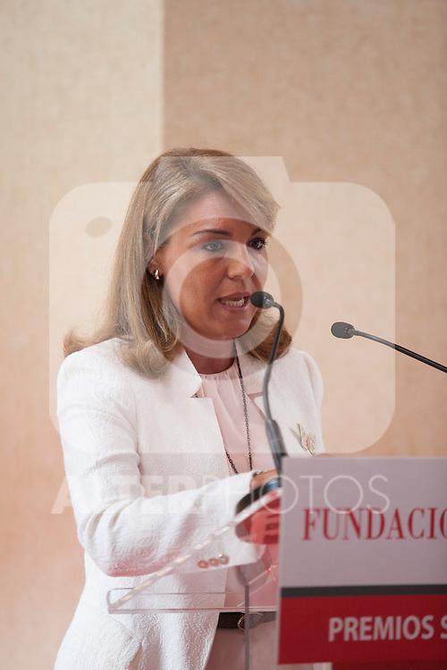 Social Services Secretary Susana Camarero during the Mapfre Foundation Social Awards ceremony at Mapfre Campus in Madrid, Spain. May 20, 2014. (ALTERPHOTOS/Victor Blanco)