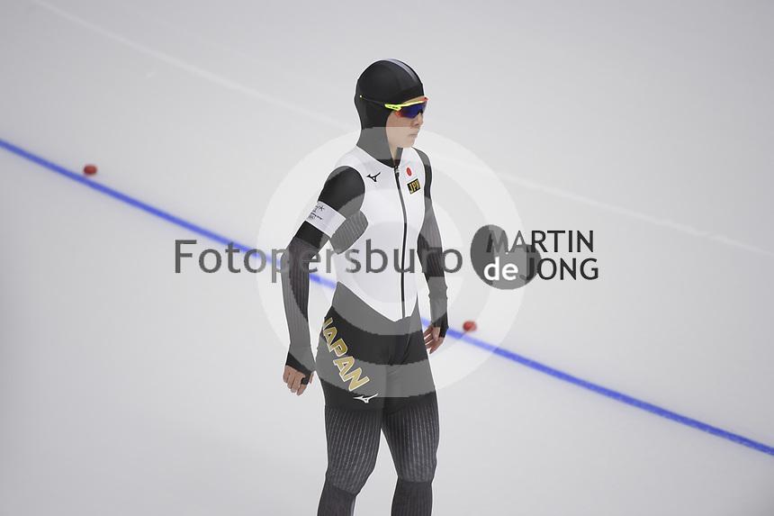 OLYMPIC GAMES: PYEONGCHANG: 18-02-2018, Gangneung Oval, Long Track, 500m Ladies, Erina Kamiya (JPN), ©photo Martin de Jong