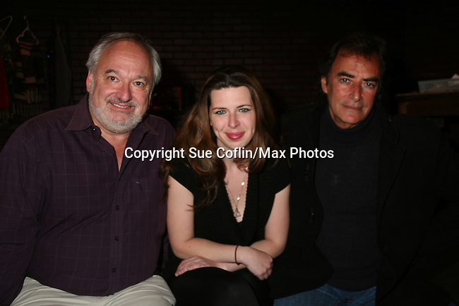 "Days of Our Lives and Mission Impossible star Thaao Penghlis ""Tony DiMera"" and General Hospital's ""Victor Cassadine"" is starring in Class with Heather Matarazzo and they pose with Roy Steinberg (artistitic director) who was director at GL, Days and AMC and was on Another World. The play Class is at the Cape May Stage in Cape May, New Jersey. The play runs til June 12, 2010. (Photo by Sue Coflin/Max Photos)"