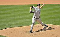 16 June 2012: New York Yankees pitcher Andy Pettitte on the mound against the Washington Nationals at Nationals Park in Washington, DC. The Yankees defeated the Nationals in 14 innings by a score of 5-3, taking the second game of their 3-game series. Mandatory Credit: Ed Wolfstein Photo