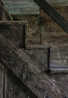 Old barn stair detail.