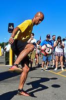 Foxborough, MA - Saturday June 18, 2016: Sprint Sponsor prior to a Copa America Centenario quarterfinal match between Argentina (ARG) and Venezuela (VEN)  at Gillette Stadium.