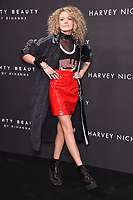 Becca Dudley<br /> arriving for the Fenty Beauty by Rihanna launch party at Harvey Nichols, London<br /> <br /> <br /> ©Ash Knotek  D3310  19/09/2017