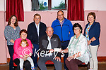 The Marian Players Rathmore presents the proceeds of their recent clothes collection appeal to Kerry Parents and Friends Association in Rathmore on Tuesday front row l-r: Breda Roche, Andrea Roche, Hugh Ryan Chairperson KPFA, Eilish Coakley MP Treasurer, Back row: Mary Dilworth, Val Moynihan, Michael Moynihan and Maureen Hickey