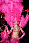 Melissa Hendershot at the San Luis Salute to Mardi Gras in Galveston Friday Feb. 13,2015.(Dave Rossman Photo)