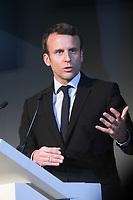 EMMANUEL MACRON AU 2E SOMMET DES START-UP - PALAIS BRONGNIART, PARIS, FRANCE - 13/04/2017