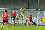 John B O Halloran, Kerry clears hid lines during the National hurling league between Kerry v Down at Austin Stack Park, Tralee on Sunday.