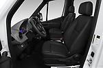 Front seat view of a 2019 Mercedes Benz Sprinter-Crew-Van Base 4 Door Combi front seat car photos