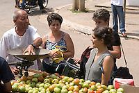 Cuba, Markt an der PLaza Marti in Vinales, Provinz Pinar del Rio