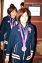 Japan Women's Table Tennis Silver Medalist at FCCJ