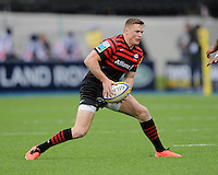 20130512 Copyright onEdition 2013©.Free for editorial use image, please credit: onEdition..Chris Ashton of Saracens in action during the Premiership Rugby semi final match between Saracens and Northampton Saints at Allianz Park on Sunday 12th May 2013 (Photo by Rob Munro)..For press contacts contact: Sam Feasey at brandRapport on M: +44 (0)7717 757114 E: SFeasey@brand-rapport.com..If you require a higher resolution image or you have any other onEdition photographic enquiries, please contact onEdition on 0845 900 2 900 or email info@onEdition.com.This image is copyright onEdition 2013©..This image has been supplied by onEdition and must be credited onEdition. The author is asserting his full Moral rights in relation to the publication of this image. Rights for onward transmission of any image or file is not granted or implied. Changing or deleting Copyright information is illegal as specified in the Copyright, Design and Patents Act 1988. If you are in any way unsure of your right to publish this image please contact onEdition on 0845 900 2 900 or email info@onEdition.com