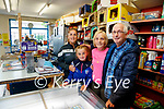 Eileen and Jimmy Moran who are retiring from Morans shop in Strand road on Friday pictured with their daughter Trisha and Granddaughter Lexi Keane.
