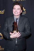 HOLLYWOOD, LOS ANGELES, CA, USA - NOVEMBER 14: Mike Myers arrives at The Hollywood Reporter's 18th Annual Hollywood Film Awards After Party held at the W Hollywood on November 14, 2014 in Hollywood, Los Angeles, California, United States. (Photo by David Acosta/Celebrity Monitor)
