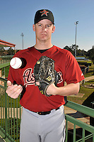 Feb 25, 2010; Kissimmee, FL, USA; The Houston Astros pitcher Roy Oswalt (44) during photoday at Osceola County Stadium. Mandatory Credit: Tomasso De Rosa / Four Seam Images