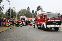 Zahlreiche Besucher beobachten die Abschlussübung der Feuerwehr Kelsterbach