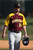 March 7, 2010:  Coach Sam Flamont of the Central Michigan Chippewas during game at Jay Bergman Field in Orlando, FL.  Central Michigan defeated Central Florida by the score of 7-4.  Photo By Mike Janes/Four Seam Images