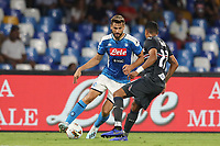 Fernando Llorente of Napoli and Jeison Murillo of Sampdoria compete for the ball<br /> Napoli 14-9-2019 Stadio San Paolo <br /> Football Serie A 2019/2020 <br /> SSC Napoli - UC Sampdoria<br /> Photo Cesare Purini / Insidefoto
