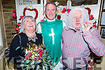 John O'Sullivan and Mags Knightley say 'I Do' in the Brogue Inn, all in aid of Kerry Cancer Support Group on Friday night with Vinny Murphy giving them his blessing