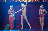 Lady Josephine<br />  burlesque dance show with Dita Von Teese at Olympia de Montreal, Sunday February 21, 2016.<br /> <br /> Photo : Raffi Kirdi<br />  - Agence Quebec Presse