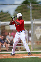 Jordan Walker during the WWBA World Championship at the Roger Dean Complex on October 18, 2018 in Jupiter, Florida.  Jordan Walker is a third baseman from Stone Mountain, Georgia who attends Decatur High School and is committed to Duke.  (Mike Janes/Four Seam Images)
