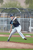 Tyler Ras (14) of Middletown North HS High School in Middletown, New Jersey during the Under Armour All-American Pre-Season Tournament presented by Baseball Factory on January 14, 2017 at Sloan Park in Mesa, Arizona.  (Kevin C. Cox/Mike Janes Photography)