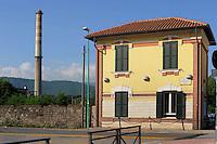 Colleferro.Piazzale Martiri delle foibe.