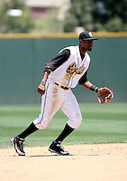 PJ Phillips / Rancho Cucamonga Quakes..Photo by:  Bill Mitchell/Four Seam Images