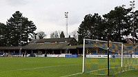 General view of St Albans City FC during Watford Under-23 vs Brentford B, Friendly Match Football at Clarence Park on 24th November 2020