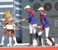 MIAMI BEACH, FL - APRIL 07: Prague Lions, Valkenswaard United, Monaco Aces at the Longines Global Champions Tour stop day 3 in Miami Beach on April 7, 2018 in Miami Beach, Florida<br /> <br /> People:  Prague Lions, Valkenswaard United, Monaco Aces