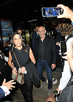 """Lisa Loiacono and Christopher Lloyd at the """"Back to the Future The Musical"""" press night, Adelphi Theatre, The Strand, on Monday 13th September 2021 in Londomn, England, UK. <br /> CAP/CAN<br /> ©CAN/Capital Pictures"""