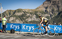 Wout van Aert (BEL/Jumbo-Visma) in the final kilometer up the Orcières-Merlette finish<br /> <br /> Stage 4 from Sisteron to Orcières-Merlette (161km)<br /> <br /> 107th Tour de France 2020 (2.UWT)<br /> (the 'postponed edition' held in september)<br /> <br /> ©kramon