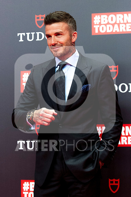 David Beckham attends the Tudor New Collection presentation at VP Plaza España Design Hotel on April 29, 2019 in Madrid, Spain. (ALTERPHOTOS/Alconada).
