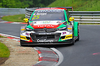 Race of Germany Nürburgring Nordschleife 2016 Free training 2 WTCC 2016 #25 TC1 Sebastien Loeb Racing Citroën. C -Elysée WTCC Mehdi Bennani (MAR) © 2016 Musson/PSP. All Rights Reserved.