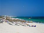 Tunisia, The Sahel, Port El Kantaoui: Beach scene | Tunesien, Sahel, Port El Kantaoui: Strand