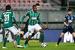 13.01.2021, xtgx, Fussball 3. Liga, VfB Luebeck - SV Waldhof Mannheim emspor, v.l. Osarenren Okungbowa (Luebeck, 20) <br /> <br /> (DFL/DFB REGULATIONS PROHIBIT ANY USE OF PHOTOGRAPHS as IMAGE SEQUENCES and/or QUASI-VIDEO)<br /> <br /> Foto © PIX-Sportfotos *** Foto ist honorarpflichtig! *** Auf Anfrage in hoeherer Qualitaet/Aufloesung. Belegexemplar erbeten. Veroeffentlichung ausschliesslich fuer journalistisch-publizistische Zwecke. For editorial use only.