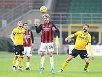 Milano 03-03-2021<br /> Stadio Giuseppe Meazza<br /> Serie A  Tim 2020/21<br /> Milan - Udinese<br /> nella foto:Simon Kjaer                                                          <br /> Antonio Saia