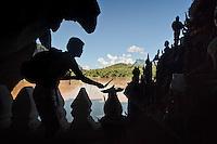 Le Mékong, à Luang Prabang Laos.
