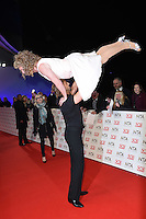 Leigh Francis and Paddy McGuinness<br /> at the National TV Awards 2017 held at the O2 Arena, Greenwich, London.<br /> <br /> <br /> ©Ash Knotek  D3221  25/01/2017