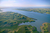 Lake Oahe on Missouri River