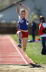 Local athletes compete in the Big George Invitational Track Meet on Friday, April 29, 2011, at Douglas High School in Minden, Nev. .Photo by Cathleen Allison