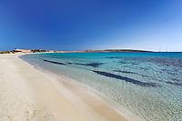 Pori beach of Koufonissi island in Cyclades, Greece