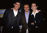 """ALESSANDRO GASSMAN CON MARCO RISI E FRAMCESCA D'ALOJA<br /> PREMIERE' """"IL BAGNO TURCO"""" CINEMA SAVOY ROMA 1997"""