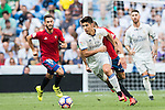 Marco Asensio willensen of Real Madrid in action during the La Liga match between Real Madrid and Osasuna at the Santiago Bernabeu Stadium on 10 September 2016 in Madrid, Spain. Photo by Diego Gonzalez Souto / Power Sport Images