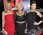 Helen Mirren, Toni Collette and Jessica Biel attends the Fox Searchlight Premiere of Hitchcock held at The Academy of Motion Pictures,Arts & Sciences in Beverly Hills, California on November 20,2012                                                                               © 2012 DVS / Hollywood Press Agency